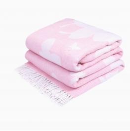 Плед Бабочка розовая Love You 4128 140x200 см