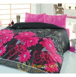 Постельное белье Casablanca Fusya Romeo Soft Классик бязь (комплект семейный)