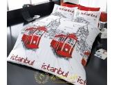 Постельное белье Beyoglu Romeo Soft Ранфорс (комплект полуторный)