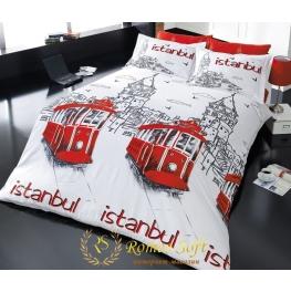 Постельное белье Beyoglu Romeo Soft Ранфорс (комплект евро)