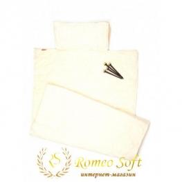 Пляжный коврик Seryat Молочный, 70*140 см