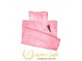 Пляжный коврик Seryat Розовый, 70*140 см