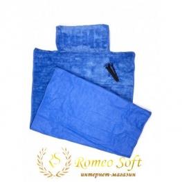 Пляжный коврик Seryat Синий, 70*140 см