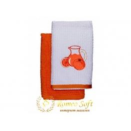 Набор махровых кухонных полотенец Romeo Soft 2 шт (40*70)