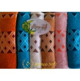 Набор полотенец Romeo Soft Bamboo Ucgen 6 шт (70*140)