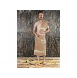 Набoр для сауны мужской Romeo Soft  махровый с тапочками