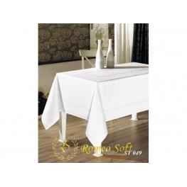 Скатерть Sagol Tekstil ST049 beyaz (160*300)